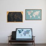 Pinning World Map (액자포함)