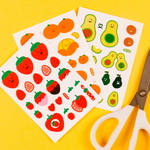 SELFCUTTING STICKER - FAKE FOOD