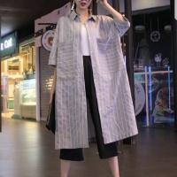[예안나] 셔츠 원피스 - 빅 포켓 자켓 셔츠 YE8079