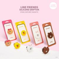 LINE FRIENDS정품 실리콘 그립톡