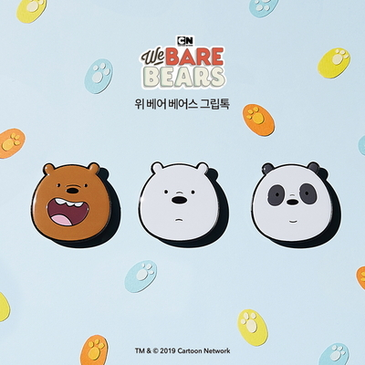 WE BARE BEARS정품 위 베어 베어스 그립톡