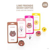 LINE FRIENDS정품 라인프렌즈 스키니 그립톡