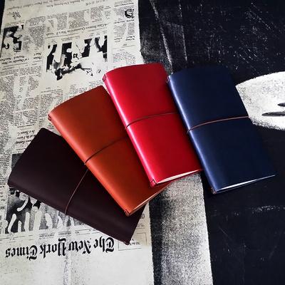 천연 소가죽 리필 섹션노트  _다이어리