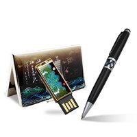 이츠 로트 자개USB+명함지갑+자개볼펜 3종 SET 16GB