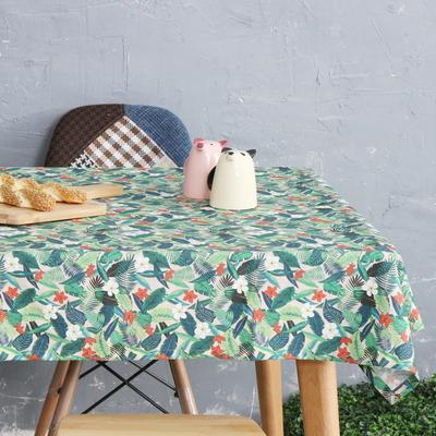 하와이안플로럴 면식탁보 테이블보 (6인용)