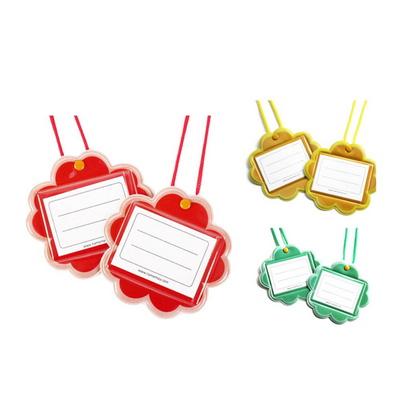 꽃모양 꼬마 명찰 어린이집 초등학교 유아동 이름표
