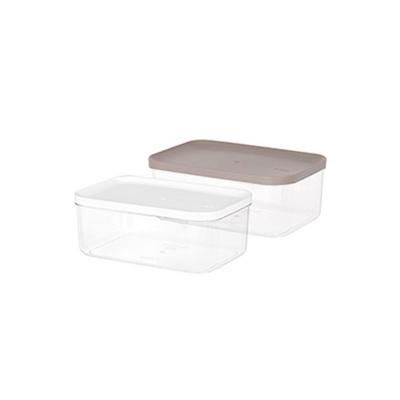 리템 냉장고 소분용기 5호 3팩 세트 반찬 보관 투명함