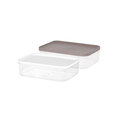 리템 냉장고 소분용기 7호 3팩 세트 반찬 보관 투명함