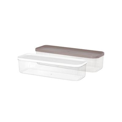 리템 냉장고 소분용기 8호 2팩 세트 반찬 보관 투명함