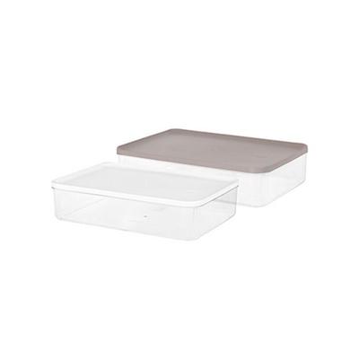 리템 냉장고 소분용기 9호 2팩 세트 반찬 보관 투명함