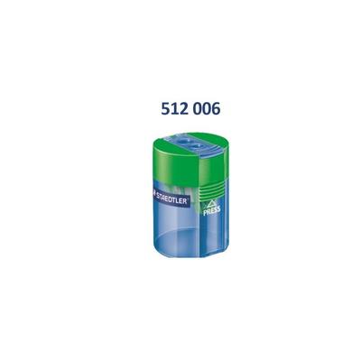 스테들러 원통형 2홀 연필 깎이 512 006 /10개입