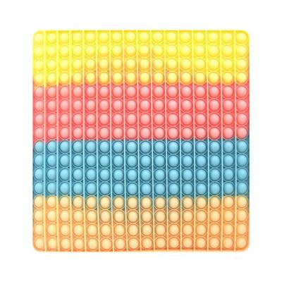 16x16 대형 레인보우 푸쉬팝 버블 틱톡 푸시팝 팝잇