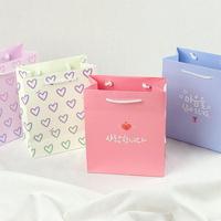 아이비스 종이 쇼핑백 종이가방 미니 선물 포장 가방