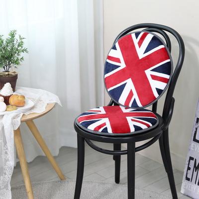 [이솔홈] 영국기 스펀지 원형방석