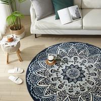 이솔홈 페르시안 원형 카페트 러그 대형 카펫 160x160