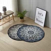 이솔홈 페르시안 원형 카페트 러그 카펫 100x100