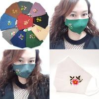 미도규방 겨울마 꽃자수 마스크 11가지 색상