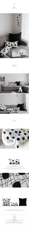 cuma(등쿠션) - 오아이, 19,000원, 일반쿠션, 패턴