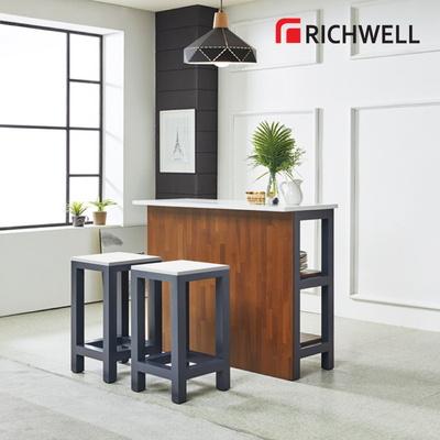 리치웰 네이비 홈바 테이블 1200 (의자별도)