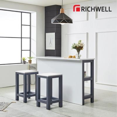 리치웰 네이비 홈바 테이블 1500 (의자별도)