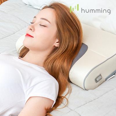 허밍 무선 베개 안마기 목 어깨 마사지기 HUM-PM2000
