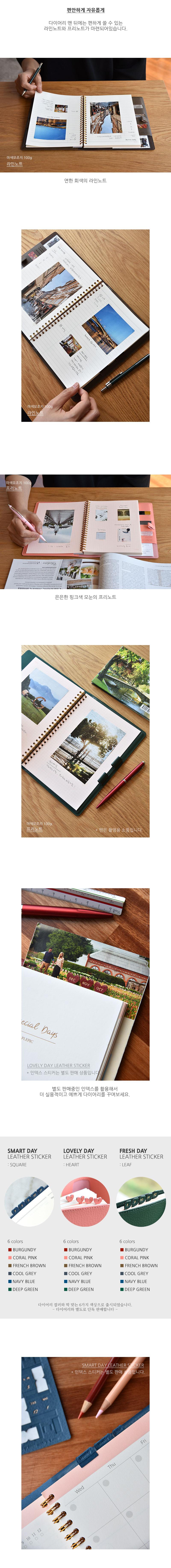 Spring Days Diary - 플레픽, 18,900원, 만년형, 심플/베이직