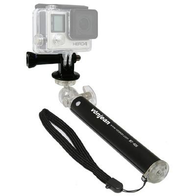 MT-406 미니 셀카봉 + KM-093A 고프로 액션캠 마운트