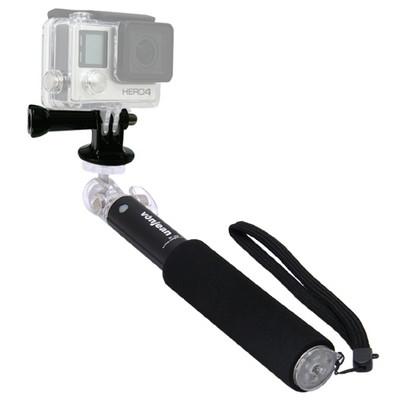 MT-408 미디 셀카봉 + KM-093A 고프로 액션캠 마운트