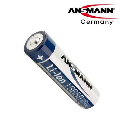 독일 안스만 18650 충전 배터리 3500mAh (보호회로 - 2000회 충전)
