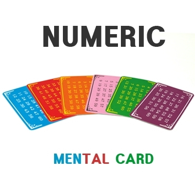 숫자카드4(NUMERIC MENTAL CARD)