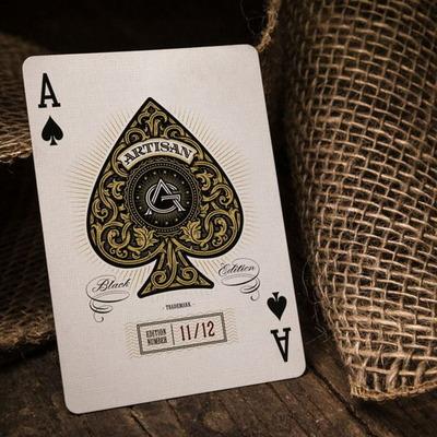 아티젠덱 오리지널블랙(Aartisan Playing Cards Original Black)