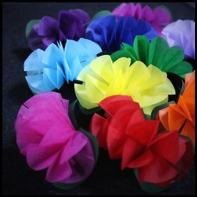 (플라워프로덕션_10송이) 손끝에서 꽃을 만들어내는 마술을 하실 수 있습니다.