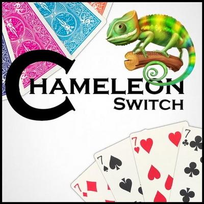 (카멜레온스위치)Chameleon Switch 관객눈앞에서 서로다른 카드를 순식간에 같은숫자로 바꾸고 컬러마