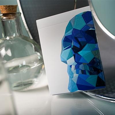 (메멘토모리-블루) Memento Mori Blue Playing Cards