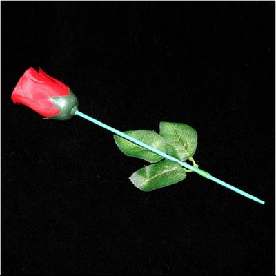 (토치투플라워) 횃불이 갑자기 꽃으로 바뀌고 꽃은 다시 실크스카프로