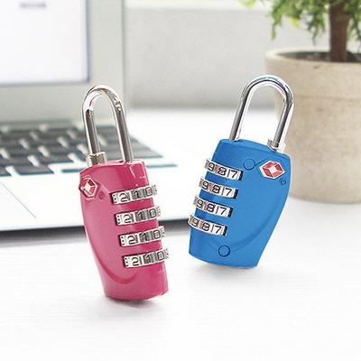 사물함 철통보안 TSA 4중번호잠금 자물쇠