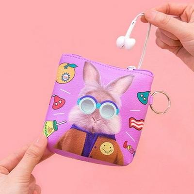 BENTOY 화장품 충전기 카드 여행용 미니 지갑 파우치