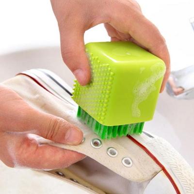 운동화 와이셔츠 속옷 손세탁 욕실청소 큐브 빨래솔