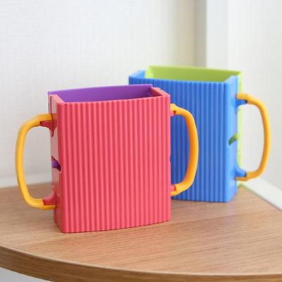아이디어 우유팩 케이스 주스 파우치 컵 홀더