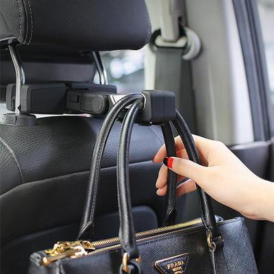차량 헤드레스트 다용도 휴대폰 가방 옷걸이 행거 PRO