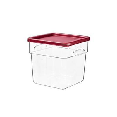 주방 공간활용 야채 과일 김치보관 투명보관박스 7.3L
