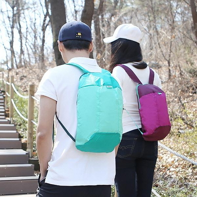 등산 캠핑 여행 초경량백팩 폴딩가방 10L WALKING BAG