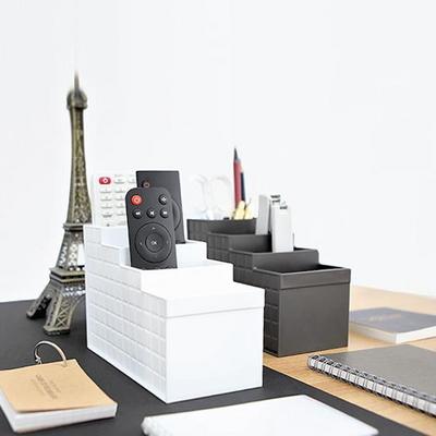 일본생산 리모컨수납 오피스 데스크 오거나이저 STAIR