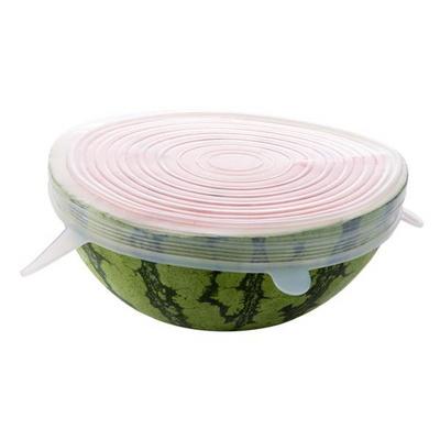 신선 밀폐뚜껑 식기 커버 실리콘랩 수박 덮개 6종세트