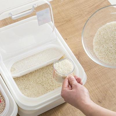 방습 벌레방지 잡곡분할보관 신혼자취 서랍형 6Kg쌀통