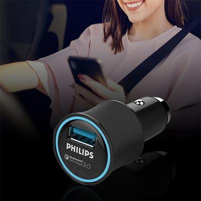 필립스 안전인증 18W 퀄컴고속 시가잭충전기 DLP2552Q