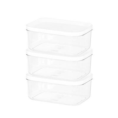 주방 냉장고수납 음식물 식재료 반찬 보관용기3호 3팩