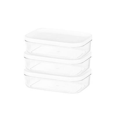 주방 냉장고수납 음식물 식재료 반찬 보관용기2호 3팩