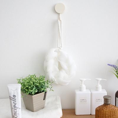 부드러운 거품생성 목욕 샤워 꽈배기타입 버블 샤워볼