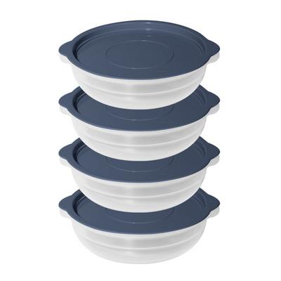 전자렌지용 냉동밥 밑반찬 보관용기 모던쿡 4EA 세트